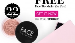 FREE FACE Stockholm Eye Shadow with New GLOSSYBOX Subscriptions with Code SPARKLE