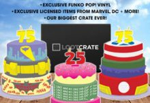 December 2014 Loot Crate Theme - Anniversary