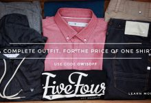 Five Four Club $15 Off