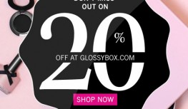 End of Year Sale! Save 20% Off GLOSSYBOX with Code GLOSSY2014