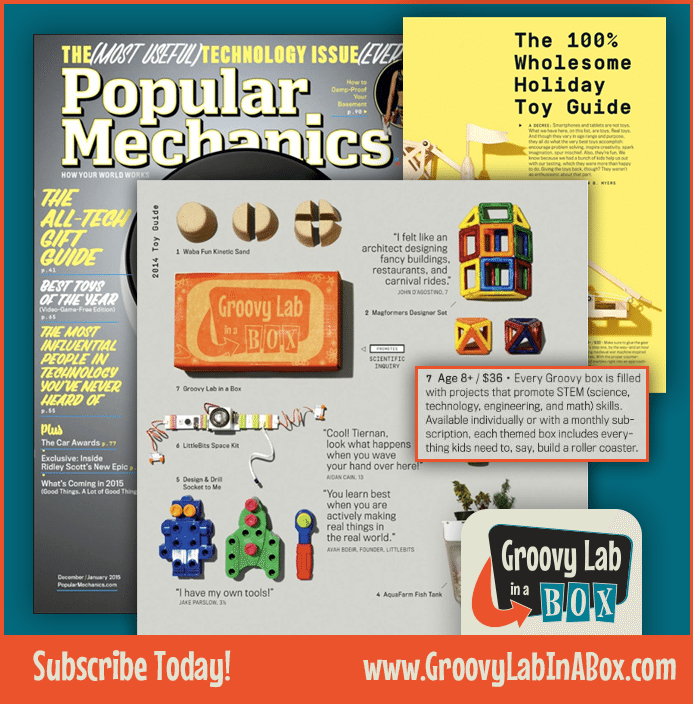 Groovy Lab in a Box Popular Mechanics