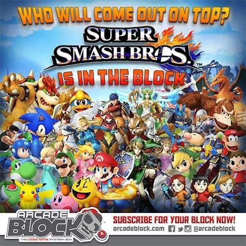 January 2015 Arcade Block Box Spoilers - Super Smash Bros.