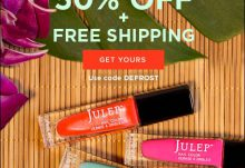 January 2015 Julep Maven Winter Escape Welcome Box