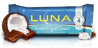 January 2015 Love With Food Box Spoiler - Luna Chocoalte Dipped Coconut Mini Bar