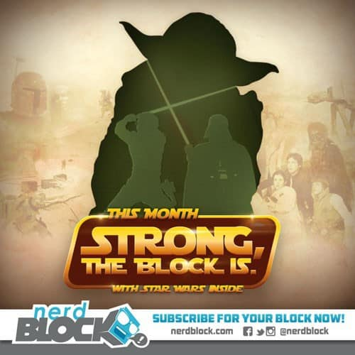 January 2015 Nerd Block Classic Box Spoiler - Star Wars