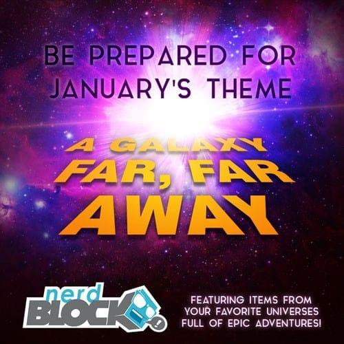January 2015 Nerd Block Classic Theme