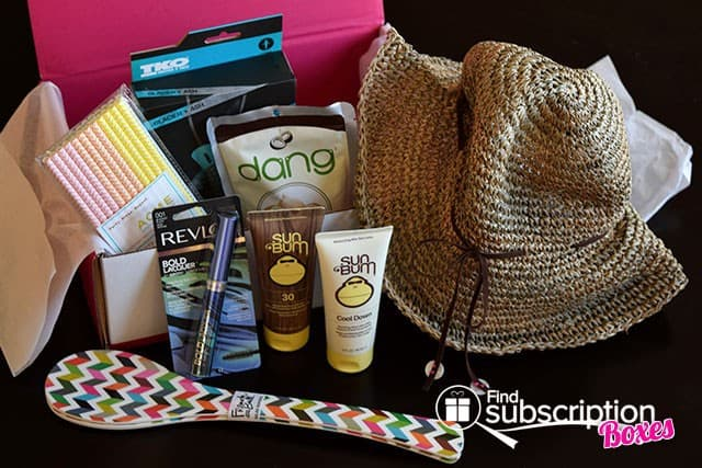 July 2014 POPSUGAR Must Have Box Review - Box Contents