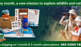 Exclusive 2 Day Coupon! Get FREE Shipping on 1 & 3 Month Junior Explorers Subscriptions with Code FSB14