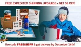 FREE 12/24 Shipping Upgrade + Save $5 Off Junior Explorers with Code FREESHIP5