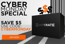 Loot Crate Cyber Monday Savings