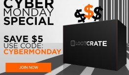 Cyber Monday 2014: Save $5 Off New Loot Crate Subscriptions with Code CYBERMONDAY