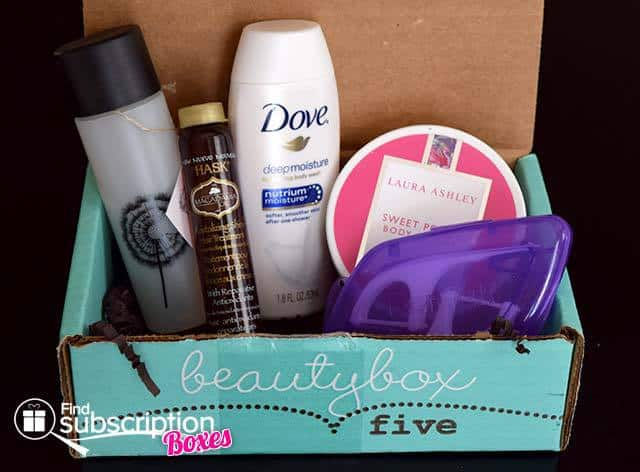 November 2014 Beauty Box 5 Box Review - Box Contents