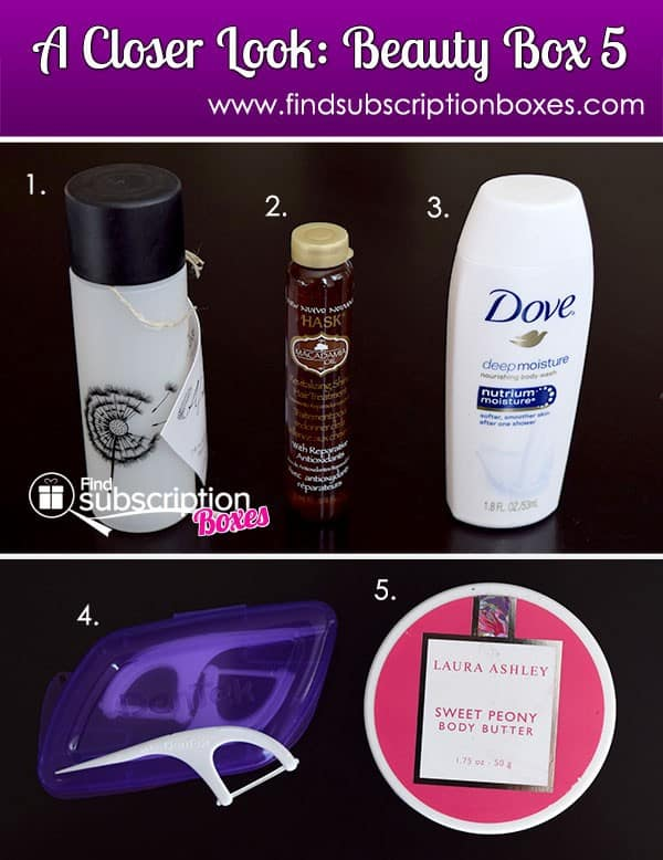 November 2014 Beauty Box 5 Box Review - Inside the Box