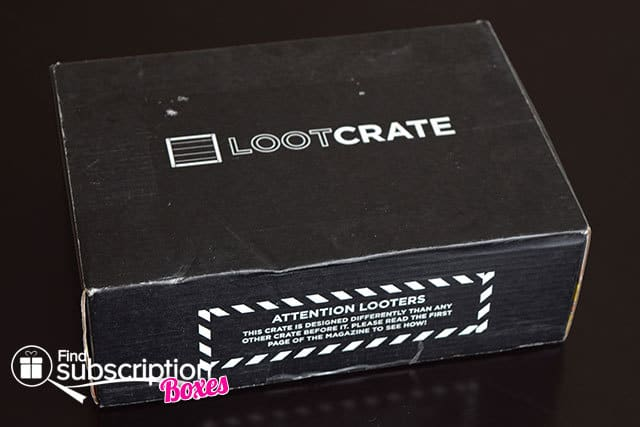 November 2014 Loot Crate Box Review - Box