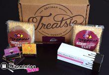 November 2014 Treatsie Box Review - Box Contents
