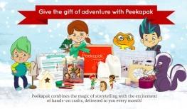 Get Up to 2 FREE Peekapak Paks with Code holidays