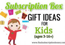 Subscription Box Gift Ideas for Kids