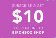 Subscribe to Birchbox $10 Bonus