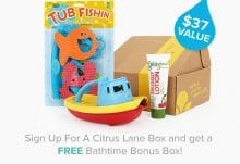 Citrus Lane Free Bathtime Bonus Box