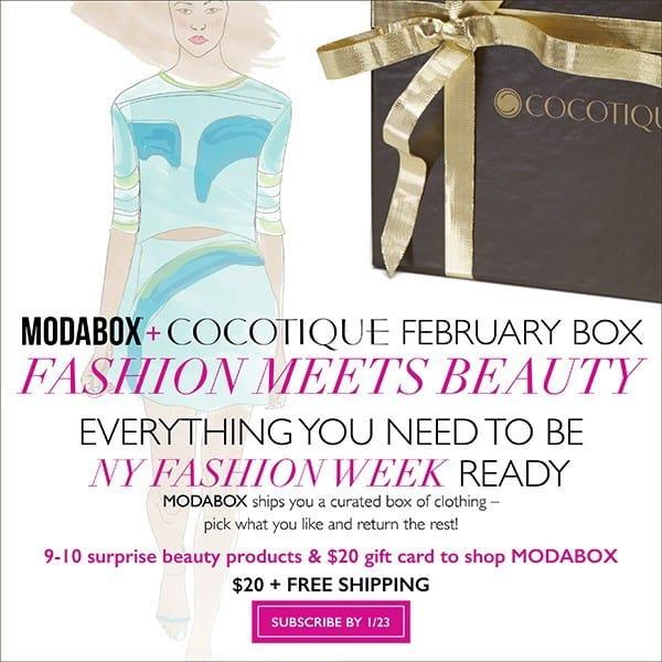 COCOTIQUE February 2015 Box Spoiler - ModaBox