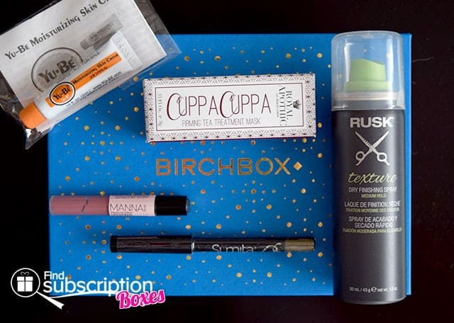 December 2014 Birchbox Box Review - Box Contents