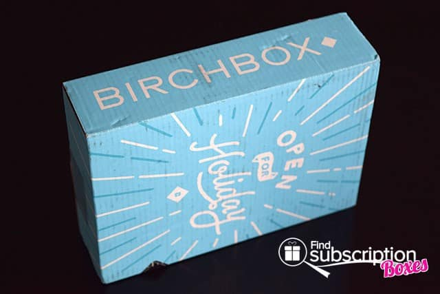 December 2014 Birchbox Box Review - Outer Box