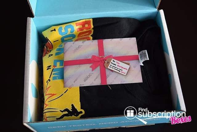 December 2014 Nerd Block Classic Box Review - First Look