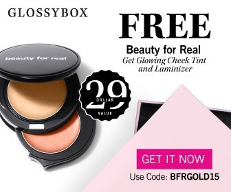 GLOSSYBOX January 2015 FREE Beauty for Real Gift