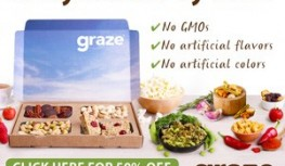 Save 50% Off Your 1st Two Graze Snack Boxes