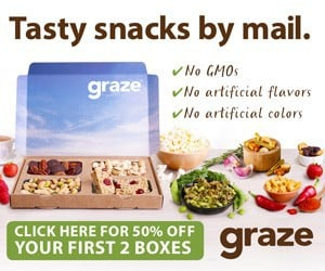 Get 50% Off First 2 Graze Boxes