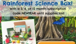 Save 25% Off Green Kid Crafts January 2015 Rainforest Science Discovery Box with Code NEWYEAR