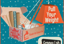 Groovy Lab in a Box January 2015 Theme - Pull Your Weight