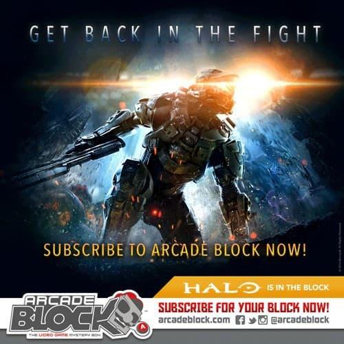 January 2015 Arcade Block Box Spoiler - Halo
