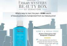 January 2015 blush Mystery Beauty Box Spoiler - Avene Cleanance Gel Soapless Cleanser