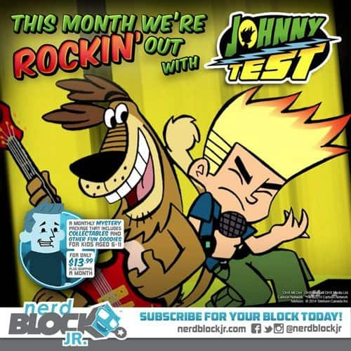 January 2015 Nerd Block Jr. Boys Block Box Spoiler - Johnny Test