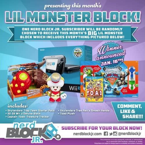 January 2015 Nerd Block Jr. Lil Monster Block