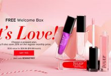 Julep Maven Free Valentine Welcome Box