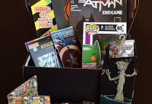Loot Crate December 2014 Box Review - Box Contents