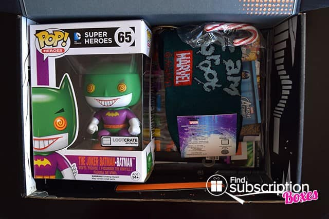 Loot Crate December 2014 Box Review - First Look