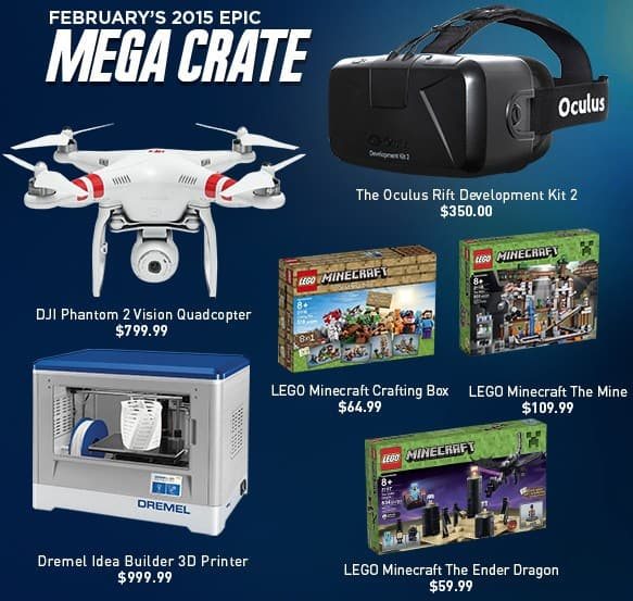 Loot Crate February 2015 Mega Crate Reveal