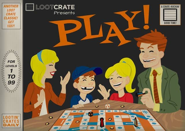 Loot Crate February 2015 Theme Reveal - PLAY