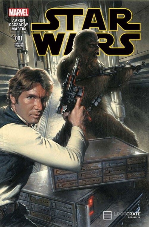 Loot Crate January 2015 Box Spoiler - Marvel's Star Wars Variant Cover