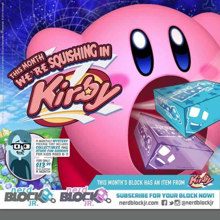 Nerd Block Jr. February 2015 Box Spoilers - Kirby