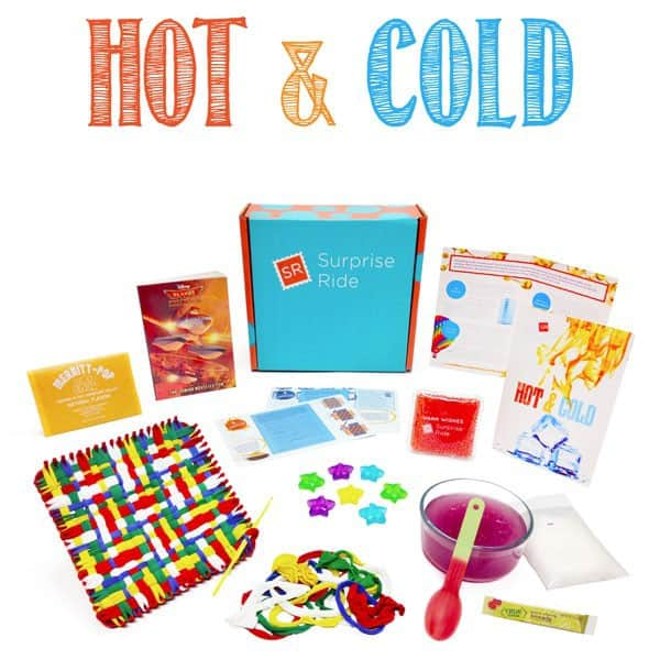 Surprise Ride January 2015 Theme - Hot & Cold