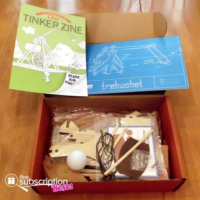 Tinker Crate Box Review - Building Project Materials