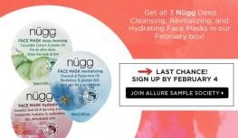 Allure Sample Society February 2015 Beauty Box Spoiler