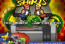 Arcade Block March 2015 Box Spoiler - Double T-Shirts