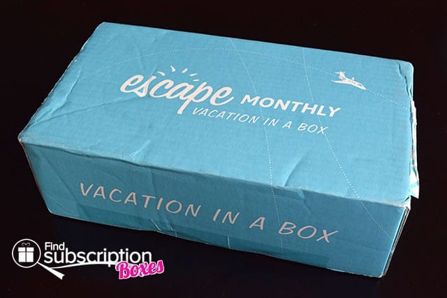 Escape Monthly January 2015 Portland Box Review - Box