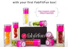 FabFitFun VIP Box Flash Sale Free Fruit-Infuser Water Bottle