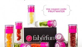 Get a FREE Fruit-Infusing Water Bottle with New FabFitFun VIP Box Subscriptions with Code FRUITWATER